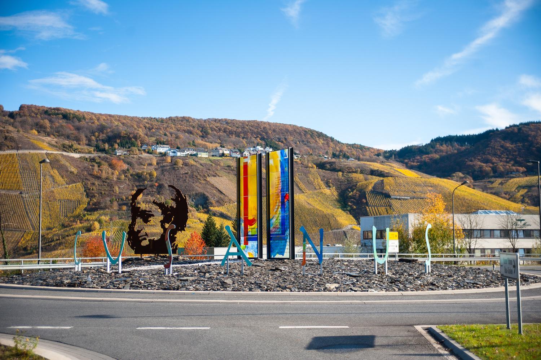 Cusanus-Kreisel in Bernkastel Kues c Andreas Scholer / tonimedia.de Originalbild unter: http://andreas-scholer.fotograf.de/photo/5702197d-6288-4729-b857-048c0a6030b7
